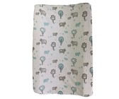 Changing Mat Cover - Baby Elephant - Grey