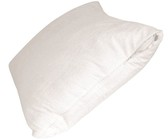 Protect-A-Bed - Premium Deluxe Pillow Protector - White