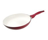 Bauer - 28 cm Eco Classic Fry Pan - Red