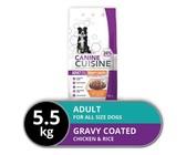 Canine Cuisine - Dry Dog Food - Gravy Coated - 5.5kg