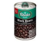 Rhodes - Black Beans in Brine 12x400g
