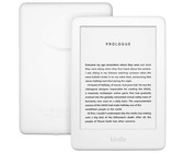 Amazon Kindle Touchscreen Wi-Fi With Built-in Light (With Ads) White Bundle