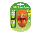 GP 9V NiMH Rechargeable Batteries and Charger Bundle