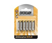 Eveready AAA Power Plus Gold - Black & Gold
