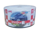 JVC Bulk DVD-R 50 Disc Pack Of 6