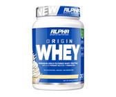 Alpha Sports Nutrition Origin Whey - Vanilla Softserve - 900g