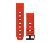 Garmin QuickFit 26mm Flame Red Silicone Band