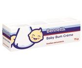 Bennetts - Baby Bum Crème - 6 x 75g