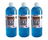 Naturex Hand Sanitizer Gel 500ml x 3 Pack