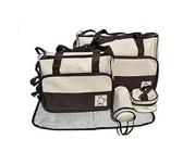 Mummy Maternity Nappy Diaper Bag - Black