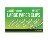 77mm PVC Coated Assorted colour Gemclips 50's