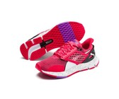 Puma Women's Hybrid Rocket Aero Road Running Shoes - Puma Black-Pink