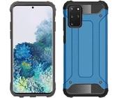 Digitronics Hybrid Shockproof Case for Samsung Galaxy S20 Plus - Blue