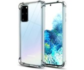 Digitronics Protective Shockproof Clear Case for Samsung Galaxy S20 Plus
