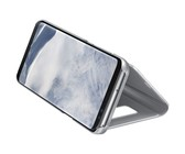 Samsung Galaxy S8+ Standing Clear View Cover - Silver