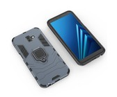 Shockproof Kickstand Ring Stand Armor Case for Samsung J6 Plus Navy