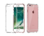 Silver Star Shockproof Slim Fit Protective Case Transparent iPhone 6 & 6s