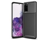 Tekron Premium Shock Resistant Slim Carbon Case for Samsung Galaxy S20 Plus