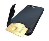 Scoop Leather Folio Case for iPhone X - Black