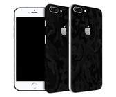 Wripwraps Black Camo Skin for iPhone 8 Plus - Double Pack
