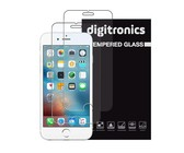 Digitronics Protective Tempered Glass for iPhone 6S/6 - Pack of 2