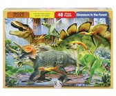 RGS Group Walking With Dinosaurs Wooden Puzzle- 48 Piece