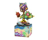 Robotime The Universe Musical Box - 3D Wooden Puzzle Gift