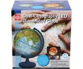 Edu-toys Dual-cartography LED Illuminated Globe