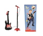 My Music World Guitar With Microphone Stand