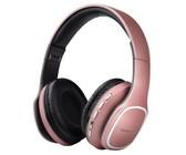 Volkano Phonic Bluetooth Wireless Headphones - Rose Gold