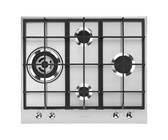 Whirlpool 75cm iXelium 4 Gas Burner Stainless Steel Hob - GMA 7414/IXL