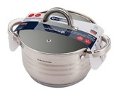 Berlinger Haus 26cm Stainless Steel Casserole with Lid - Silver Jewellery
