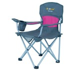 Oztrail Deluxe Junior Chair - Pink Only - 80kg
