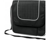 Eco Wine cooler satchel bag for 2 - Black