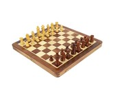 Rosewood Magnetic Chess Set - 30cm