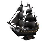 Cubic Fun Queen Anne's Revenge 340 Piece With LED Unit 3D Puzzle