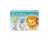 Educa - Baby Wild Animals Puzzles - 24 Pieces - 5 Assorted