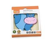 VIGA Handy Block Puzzle - Hippo
