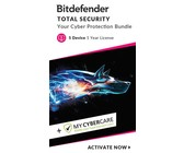 Bitdefender INTERNET SECURITY + MyCyberCare -5Devices (Win)Digital Download