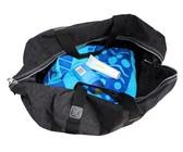 Fino Ladies Washed Nylon Duffle Bag - Black