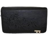 Fino PU Leather Embroidery Design Purse