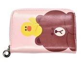 Pink Pixie Bear & Chick Wallet