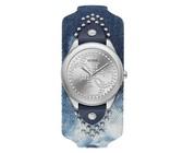 Guess Women's HEARTBREAKER Watch With Round Case - Silver