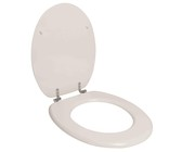 Wildberry - Toilet Seat - White Chrome Plated Butterfly Hinge