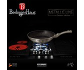 Berlinger Haus 26cm Marble Coating Flip Frypan - Aquamarine Edition