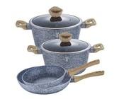 Berlinger Haus 10-Piece Marble Coating Cookware Set - Black Rose Edition