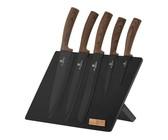 Berlinger Haus 6-Piece Non-Stick Coating Knife Set - Brown