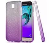 Bling Gradient Sparkie Glitter Cover for Samsung J7 Pro - Purple