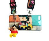 DHAO-Crayon Shin-chan Silicone Cellphone Case With Lanyard - iPhone6Plus