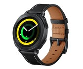 Killerdeals Leather Strap for Samsung Gear S4 - Black